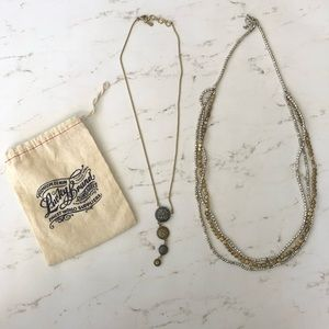 Lucky Brand necklace set